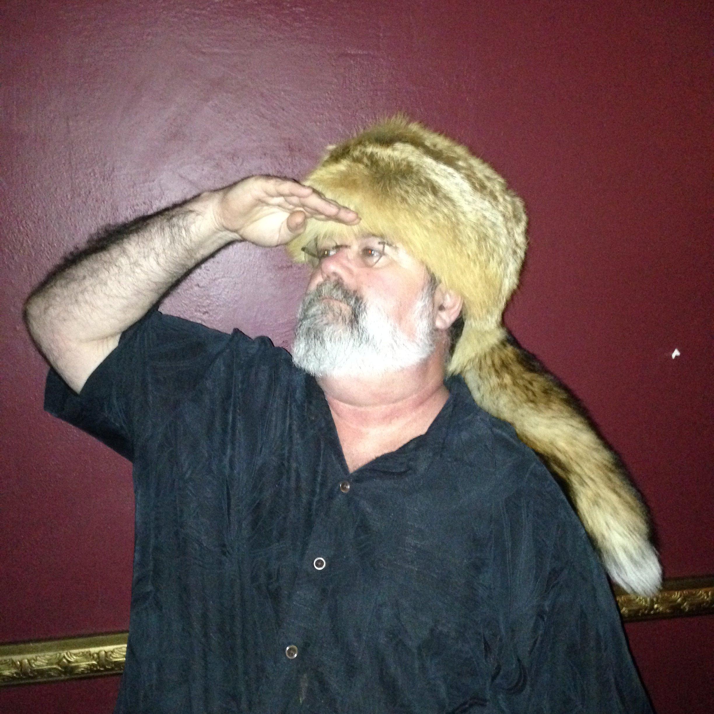 Attorney, John Curtin, sporting the fox hat