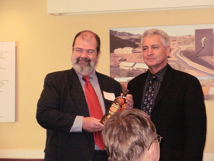 John, always the Irishman, with outgoing AZTLA President, Lloyd Rabb