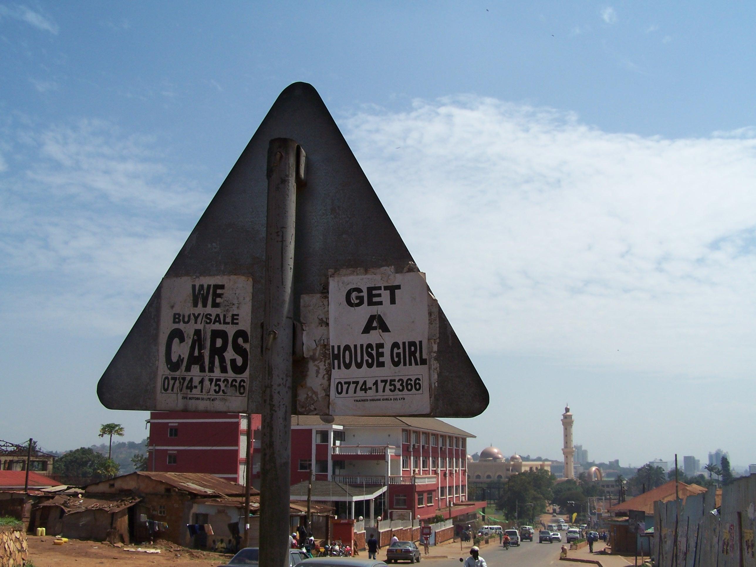 Street scene in Kampale, Uganda\'s capital