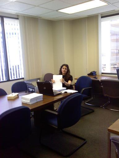 Law Clerk, Sarah Raja