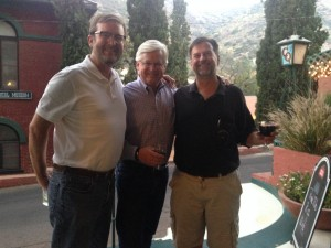 Attorney Joel Robbins, with Attorney Tom Ryan and Hon. Chris T. Whitten