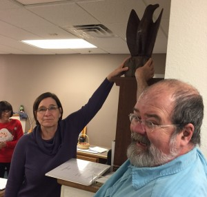 Trial Eagle Goes to Anne